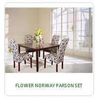 FLOWER NORWAY PARSON SET